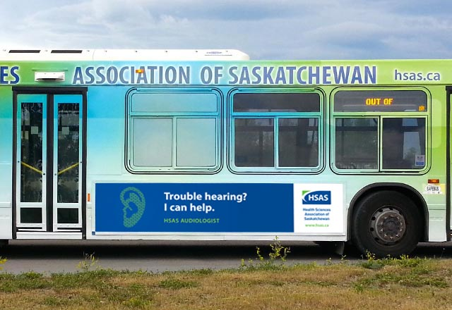Regina Bus – Side View