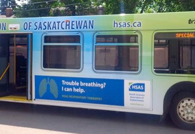 Saskatoon Bus - Side View